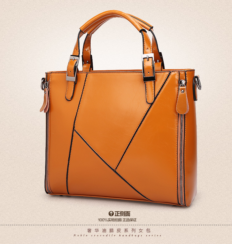 High Quality Vintage Messenger Bags,real Brand 100% Genuine  Leather
