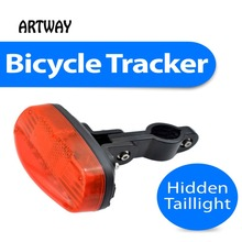 T16 High safety GPS tracker  built in the common bicycle tail lamp can standby 120days easy tracking now(China (Mainland))