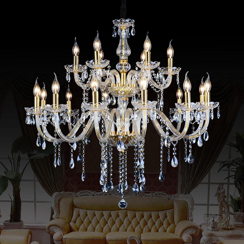 chandelier 18 modern crystal chandeliers moderne kronleuchter aus kristall suppliers black crystal lamp dining room lights(China (Mainland))