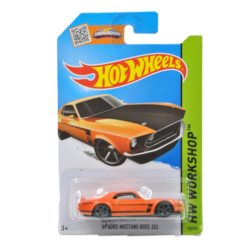 Free Shipping 1:64 Hot Wheels 69 FORD MUSTANG BOSS 302 Alloy Collectible Model Toy Car For kids C4982(China (Mainland))