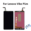 For Lenovo Vibe P1m LCD Display with Touch Screen Digitizer Assembly Tools free shipping