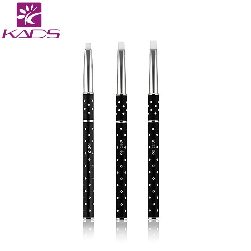 KADS 1pc 1 SIZE Hot selling Nail print pen Acrylic Nail Brush Kit Art Set UV gel brush Nail art Free shipping(China (Mainland))