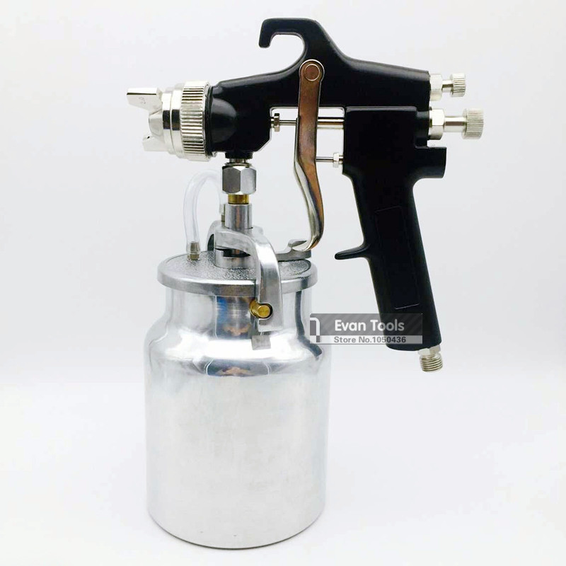 spray gun 2 0mm high pressure paint spray gun 1000ml spray paint. Black Bedroom Furniture Sets. Home Design Ideas