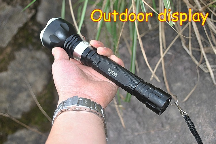 High quality underwater diving torch L2 led diving flashlight  waterproof  Hunting, camping T6 tactical flashlight  lamp lantern