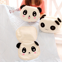 Bear plush toy doll office pillow cushion quilt dual gift(China (Mainland))