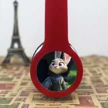 Best gift Cartoon Anime headhand Earphone Zootopia Judy rabbit 3.5mm Headphones For iPhone samsung MP3 player Computer kids