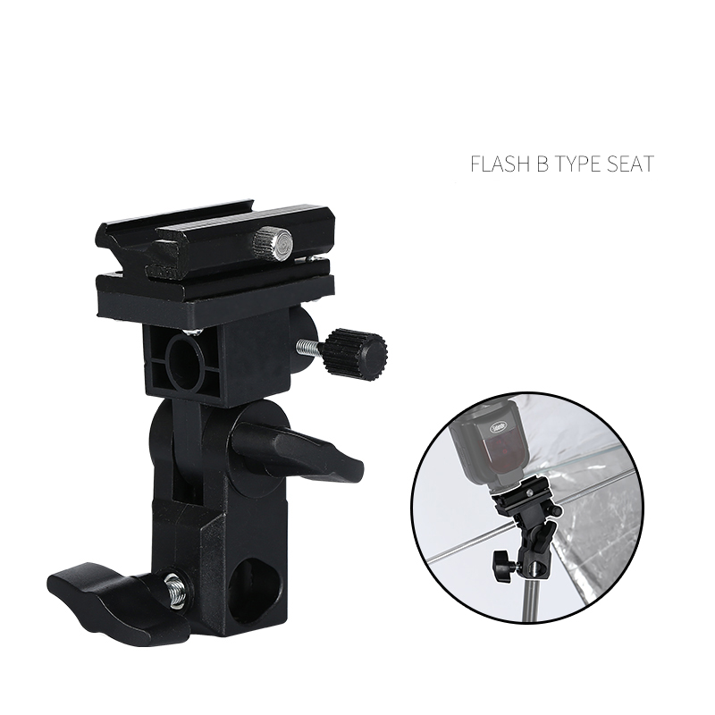 Flash lamp holder type B flash bracket Can be fixed reflective umbrella fixtures for flash soft box(China (Mainland))