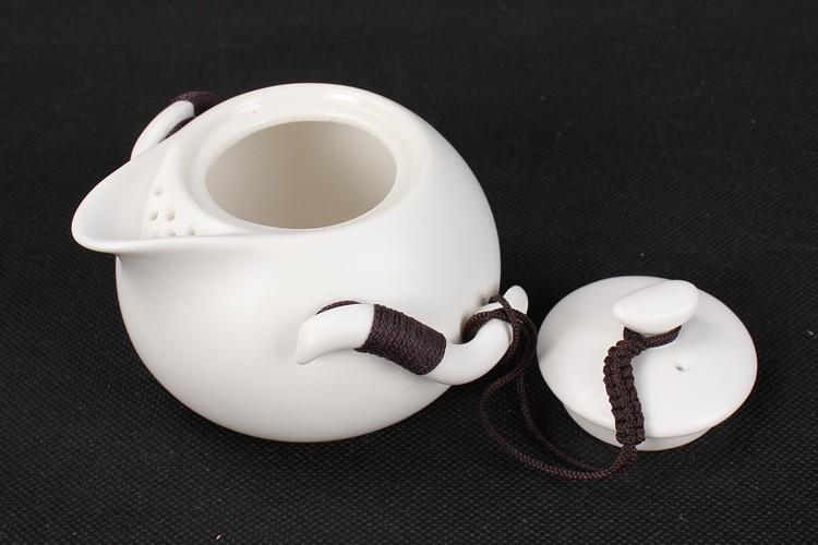 подлинное керамических набор чая, чайник, Китай Дин печи чайный набор, чайный набор кунг-фу, горшок двух чашек