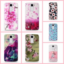 """Buy Case Soft TPU Luxury 3D Relief Printing Cover Case LG K8 Lte K350 K350E K350N 5.0"""" K 8 Phone Back Silicon Cover Bag Cases for $1.05 in AliExpress store"""