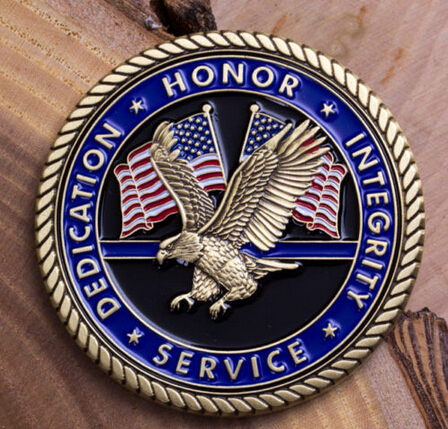 High quality SERVICE ABOVE SELF CHALLENGE COIN custom souvenir coin Low price customization Medal FH810150(China (Mainland))