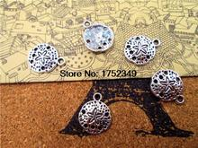 Buy 30pcs--Sand Dollar Charms,Antique Tibetan Silver Tone sand dollar charm pendants 12mm for $2.19 in AliExpress store