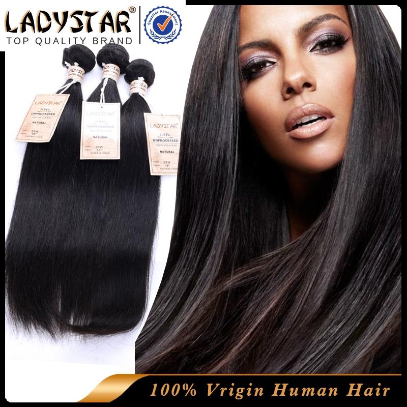 Discount Luxy Hair Products 4 Bundles Peruvian Virgin Hair Straight 6A unprocessed Pervian Virgin Human Hair Straight No Tangle(China (Mainland))