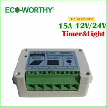 Buy Hot* 15A Solar Controller Charge Controller PV panel Battery Charge Controller 12V 24V Solar system Home indoor use for $15.19 in AliExpress store