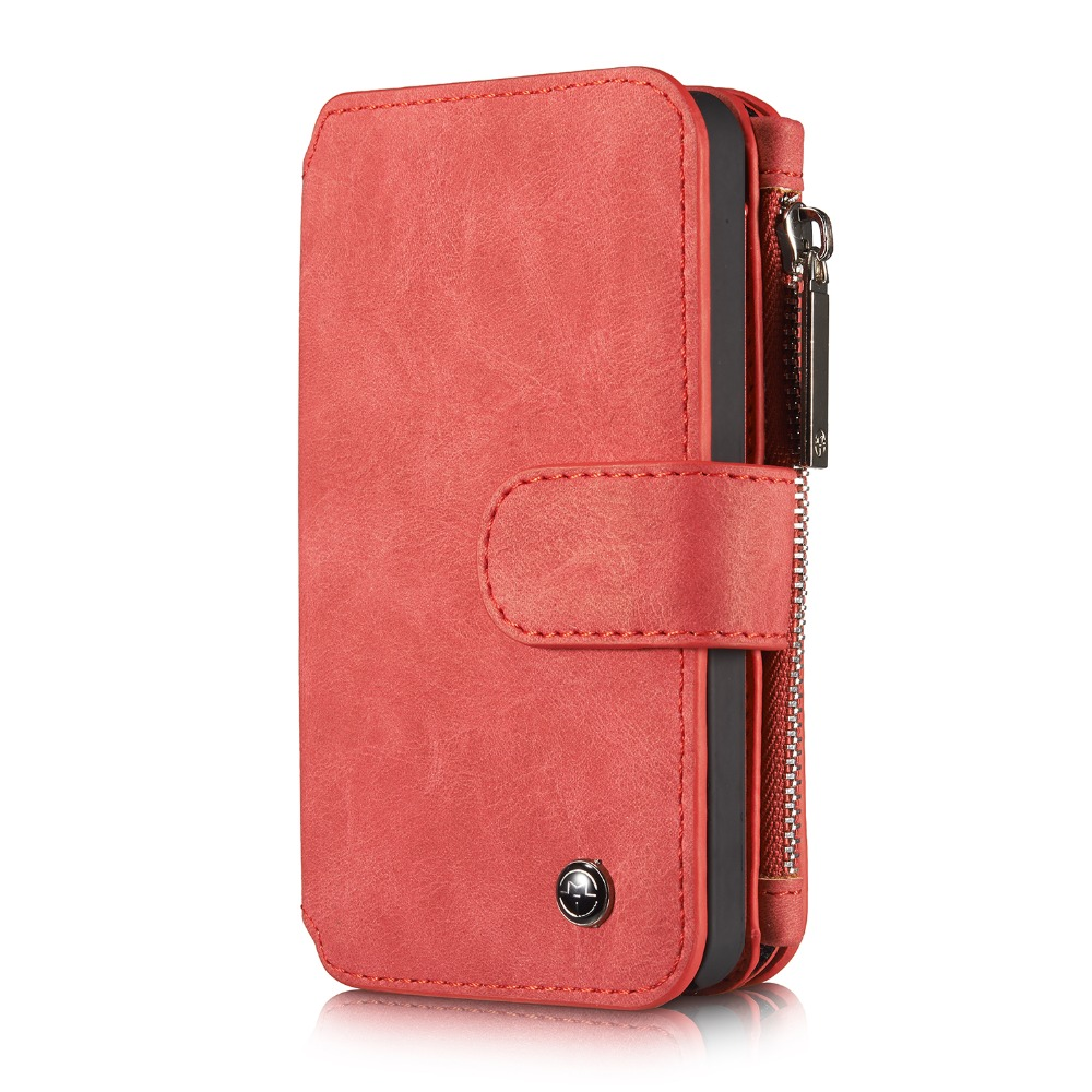 luxury Quality Leather Case for iPhone 5 5S SE New Multi Functional 2 in 1 Leather Stand Wallet Card holder Cover Phone bag(China (Mainland))