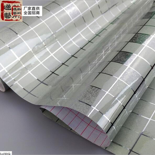 Acheter Salle De Bains Stickers Muraux Pvc Mosa Que Papier Peint Cuisine