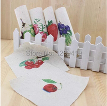 Buy 6PCS 15*15cm Hand Dyed Cotton Linen Fabric Colorful Fruit Tissue Sewing Tilda DIY Patchwork Scrapbooking Quilting Tecido ZAKKA for $9.63 in AliExpress store