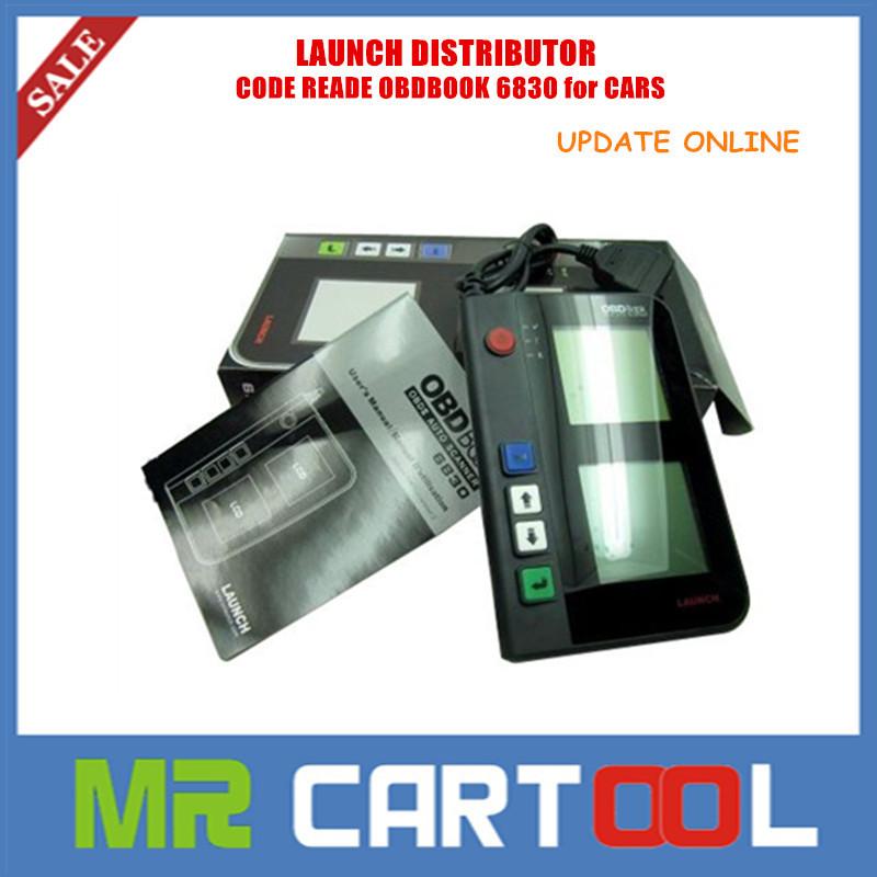 Оборудование для диагностики авто и мото Launch 2015 OBD2 OBDbook 6830 DTC OBDbook 6830 какое оборудование купить для диагностики для автомобиля