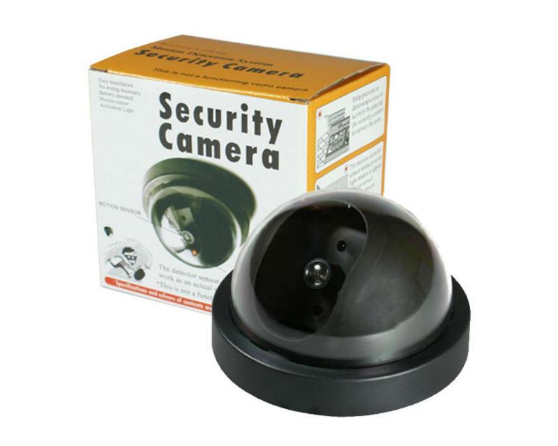 Emulational fake false decoy dummy security surveillance CCTV camera indoor video monitor thermal system install IR LED BLINKING(China (Mainland))