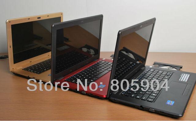"DHL Free shipping Intel Celeron 1037U 1.8GHz Dual-core 14.1"" Laptop Win7 Win8 Camera 1.3M HDMI DVD-RW (L700 Celeron)(1G 160G)"