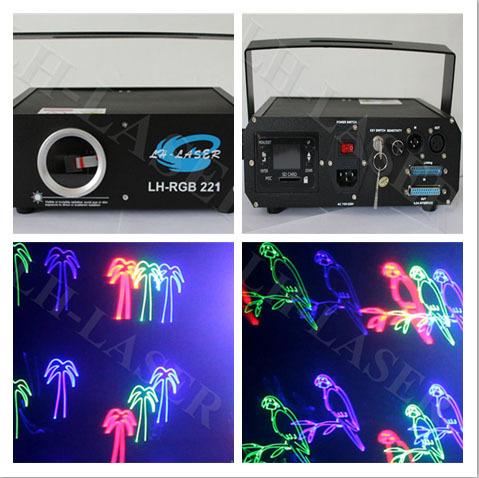 New 500mW RGB animation laser lighting led car door logo laser projector light(China (Mainland))