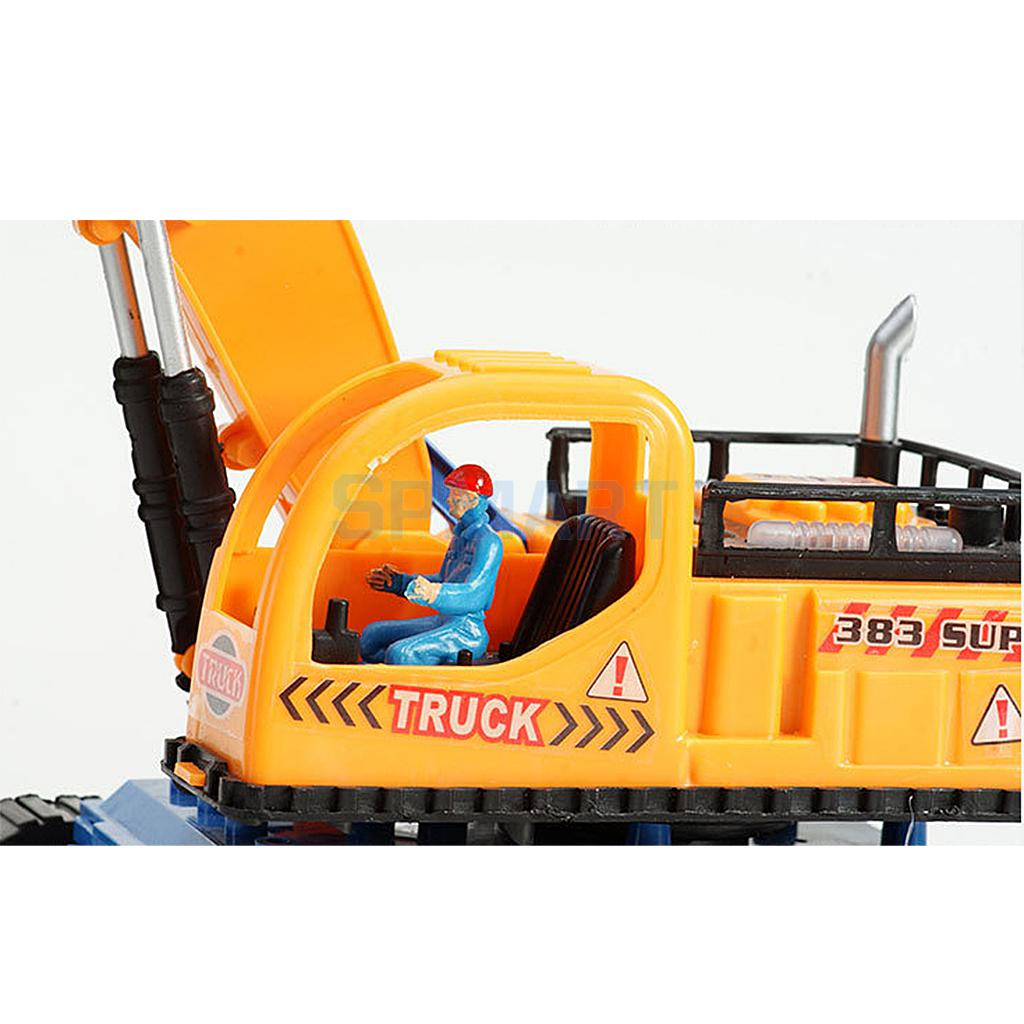 Electric Flashing Light Excavator Tractor Vehicle Digging Truck Model Simulation Excavating Machinery Sound Toy Kids Gift #1(China (Mainland))