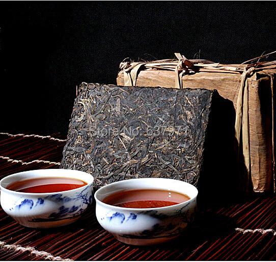 250g Made in1990 ripe puer tea oldest pu er tea ansestor antique honey sweet dull red