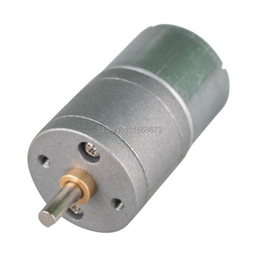 Gear Dc Motor 6v 200rpm Powerful High Torque 6v Electric