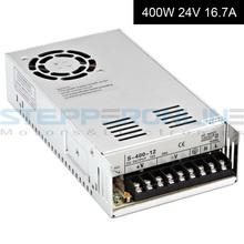 Импульсный источник питания 400 Вт 24 В 16.7A для фрезерный станок с чпу комплекты 115 В / 230 В S-400-24