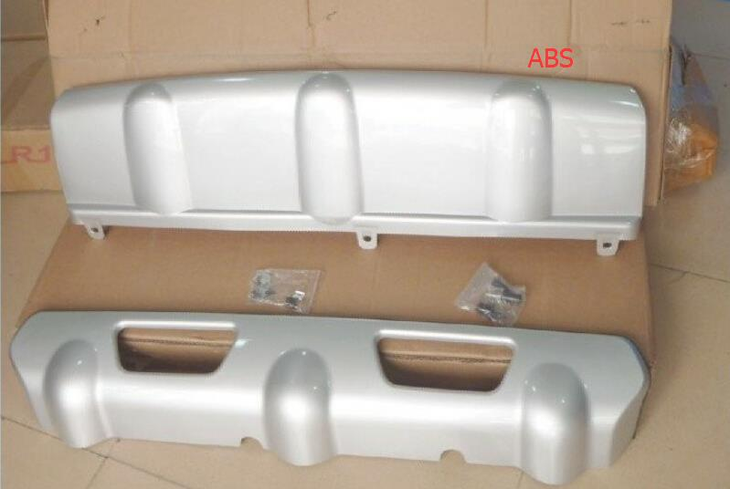 ABS Front &amp; Rear Bumper Skid Plate Protector Guard 2pcs For Nissan X-Trail X trail 2012 2013<br><br>Aliexpress