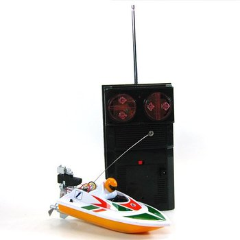 10pcs/lot Cool Radio Remote Control RC Mini Racing Speed  Electric Boat Toy