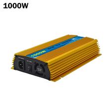 1000W 24V solar power grid tie micro inverter 20-45V DC to AC 120/230V Pure Sine Wave Inverter 1000WATT for 24V 36V solar panel(China (Mainland))
