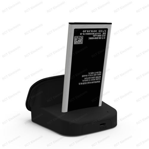 Note 4 Battery Charger Dual Sync Data Desktop Cradle Charging Dock Samsung Galaxy IV N9100 Note4 - RVISON Electronics Co., Ltd. store