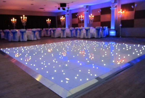 LED Light Dance Floor Kit - Multi Color - Great for Dancefloors & Stages (24inch x 24inchx1.2inch)(China (Mainland))