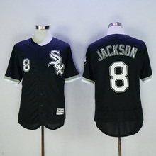 Mens Flexbase Version #8 Bo Jackson #14 Paul Konerko Jersey Color Gray White Heat-sealed Tagless Throwback Jerseys(China (Mainland))