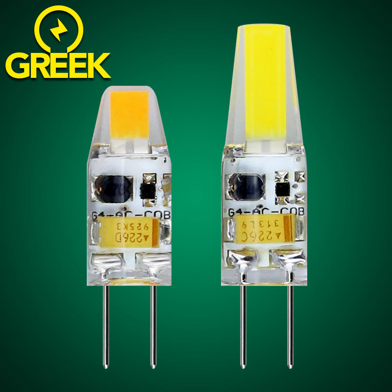 1pcs Mini LED G4 Bulb COB LED Bulb Dimmable G4 LED Lamp AC DC 12V 3W 6W 360 Beam Angle Light replace Halogen G4 for Chandelier(China (Mainland))