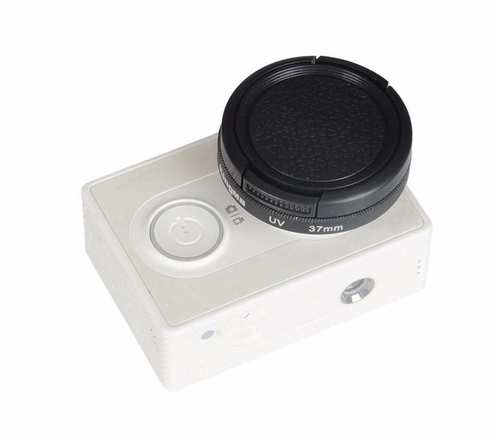 KingMa Original xiaomi yi 2 4K II action sport camera 37mm UV filter lens + lens cap Xiaomi yi sport camera Accessories