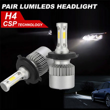 Buy 2017 New Car-stlyling H4 180W 18000LM LED Headlight KIT HIGH LOW Beam Replace Halogen Xenon #5.8 for $17.22 in AliExpress store