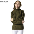 2016 Autumn Winter Fashion Crochet Cable Pullover Sweater Women Thick Warm Loose pull femme Women s