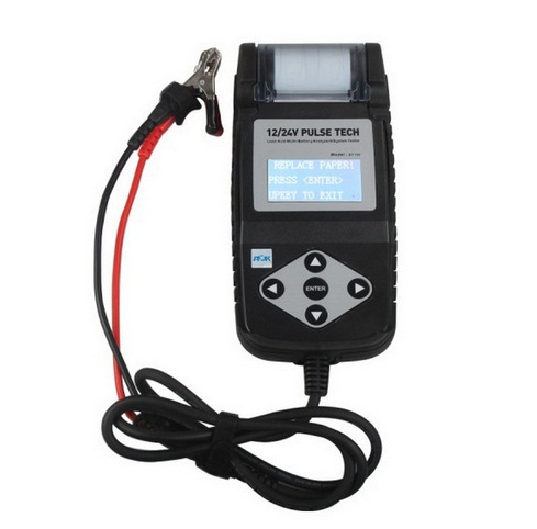 Top rated BT750 Battery Tester 12/24V Automotive Battery Analyzer with Printer(China (Mainland))