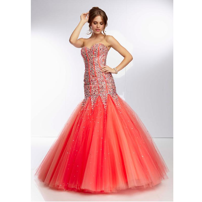 Online Get Cheap Orange Sweetheart Mermaid Prom Dress -Aliexpress ...