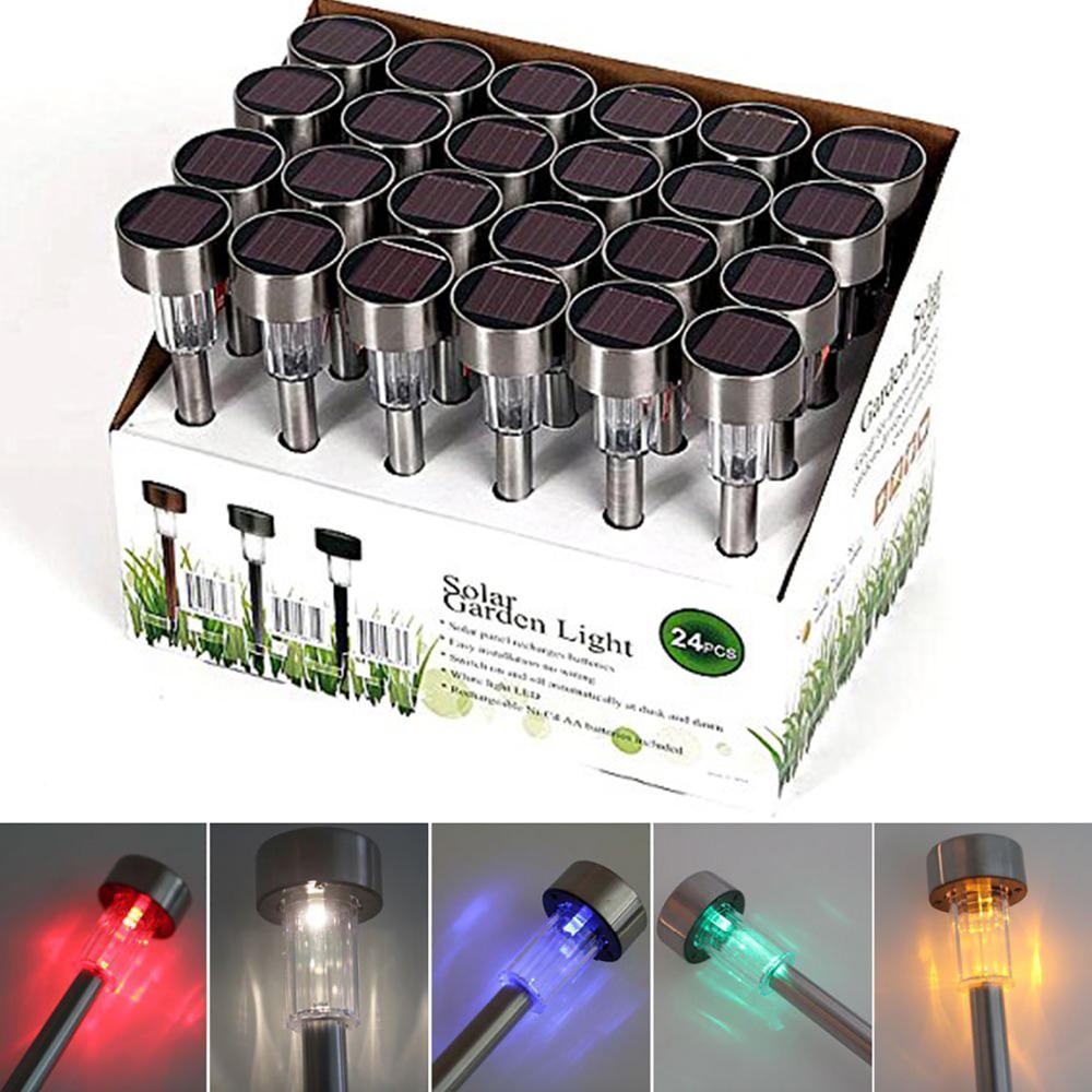 Set of 10 Solar LED Garden Lights Outdoor Lighting for Patio Garden Lawn Path Driveway Landscaping Enhance Exterior Decor Lamp<br><br>Aliexpress