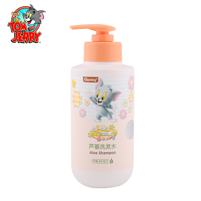 Mild Baby Aloe Shampoo Baby Head Care Moisturizing Safety Parental Care Formula For Infant Head Cleaning Baby Health Care 220ml<br>