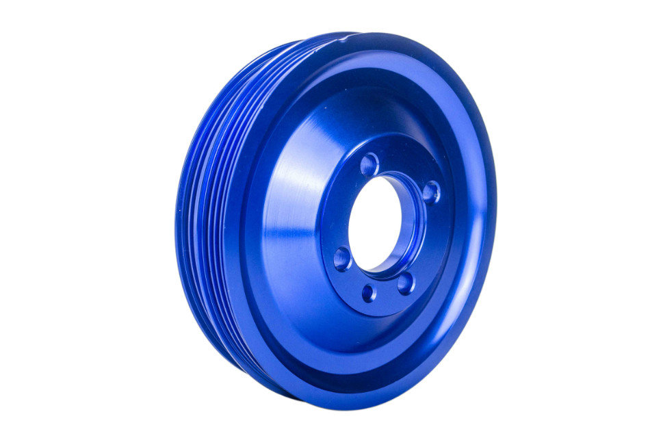 J2 Racing Store CRANK PULLEY FOR EVO 1 2 3 4G63 CRANK PULLEY HIGH PERFORMANCE LIGHT