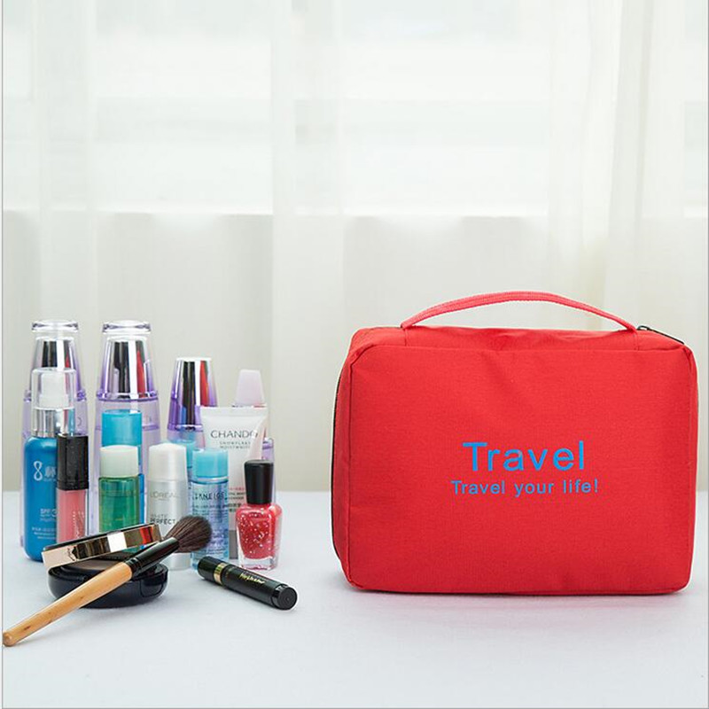 2017new fashion cosmetic bag travel make up storage bag organizer toiletry bag travel wash pouch make up case for man and woman(China (Mainland))
