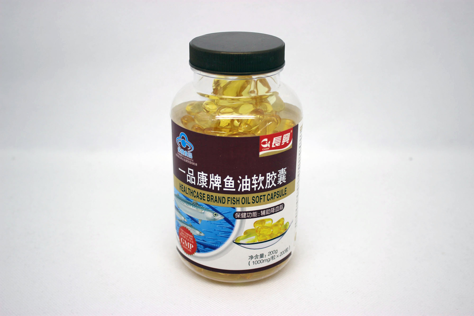 Fish oil capsules soft gelatin glycerin health food fat gelatin glycerin(China (Mainland))