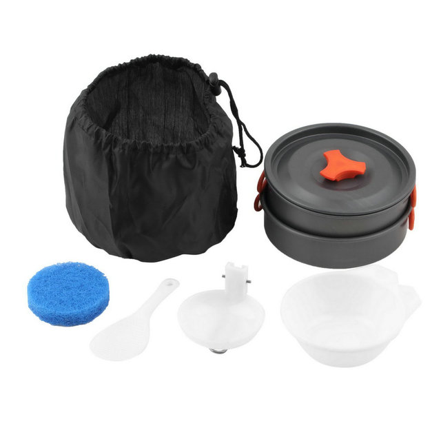 8 pcs Camping Cookware Set
