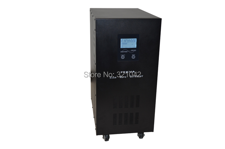 Industrial Level low frequency 12000VA/8000W Pure Sine Wave Solar Inverter with charger UPS(China (Mainland))