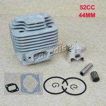 44 MM 52CC BC520 cepillo CG520 cortador Kit del pistón del cilindro con junta del colector junta del cilindro y rodamiento de agujas