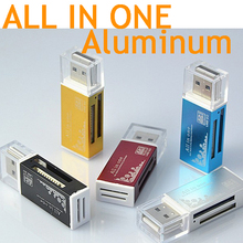 Intelligente tutto in un lettore di schede/multi in 1 card reader sd/sdhc, mmc/rs mmc, tf/microsd, MS/MS pro/MS duo, m2 card reader all'ingrosso(China (Mainland))