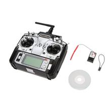 FlySky FS-T6 2.4G 6CH RC Radio Control Transmitter and FS-R6B Receiver System #84898(China (Mainland))